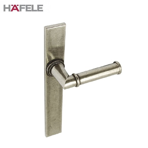 LAMONT Lever on Plate Handle Latch Patio Door Entry 250mm Pewter