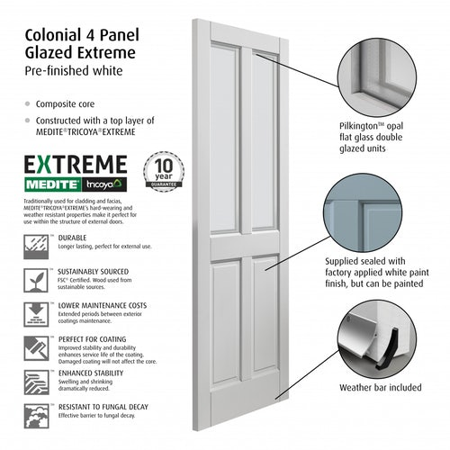 JBK Colonial 4P Glazed Extreme Detail