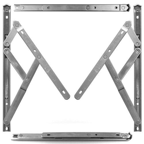 Stainless Steel Window Friction Stay Pair