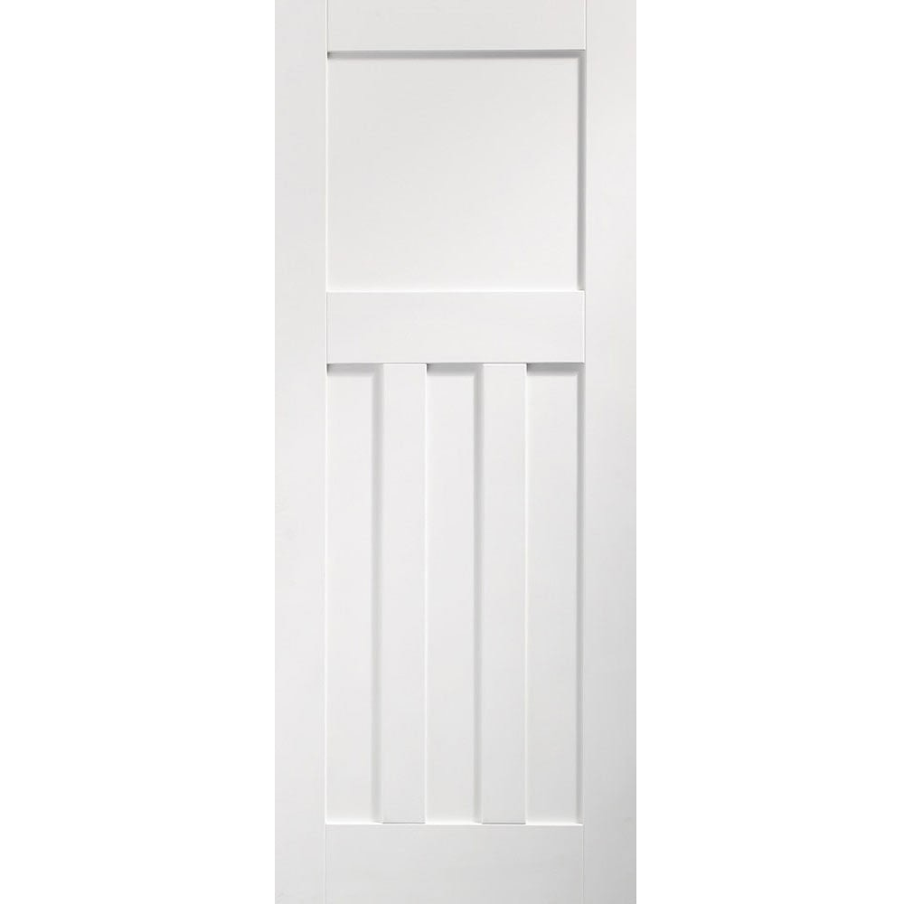 XL Joinery Internal White Primed DX 1930s Edwardian Style 4 Panel Door 686mm