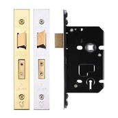 3 Lever Mortice Door Fire Rated Sash Lock (Keyed Alike/Differ)