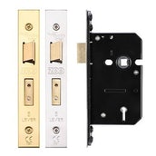 5 Lever Mortice Door Fire Rated Sash Lock (Keyed Alike/Differ)