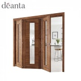 Deanta Walnut Pre-Finished Room Divider Frame