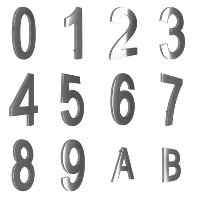 2D Stainless Steel Wall Door Number and Letter Sign