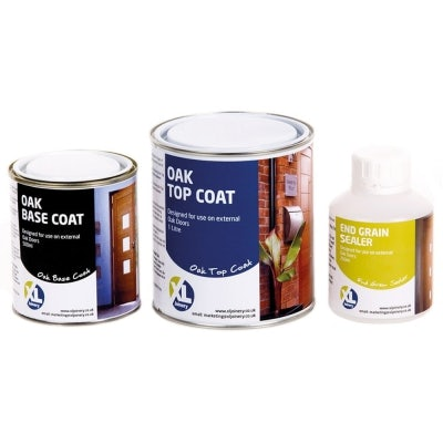 XL Joinery External Oak Door Stain and Sealer Kit