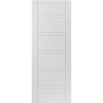 JB Kind Internal White Primed IMPERIAL Horizontal Line Flush Door