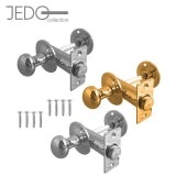 Jedo Bathroom Door Thumb Turn and Release Set with Mortice Bolt