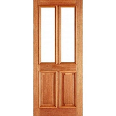 LPD External Hardwood DERBY Unglazed Door M&T