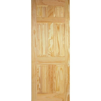 LPD Internal Clear Pine 6 PANEL Traditional Door