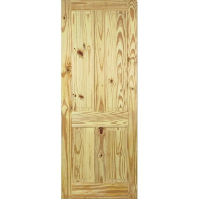 LPD Internal Knotty Pine 4 PANEL Traditional Door
