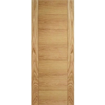 LPD Internal Oak CARINI Horizontal Line Flush Door