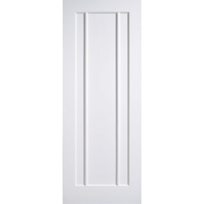LPD Internal White Primed LINCOLN Contemporary 3 Panel Door