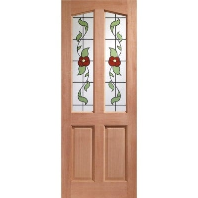 XL Joinery External Hardwood Richmond Keats Single Glazed M&T Door