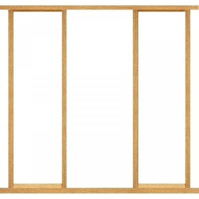 XL Joinery External Oak Effect Door Frame Kit with Sidelight