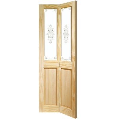 XL Joinery Internal Clear Pine Victorian Bi-Fold Campion Glazed Door