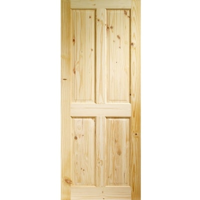 XL Joinery Internal Knotty Pine Victorian 4 Panel Door