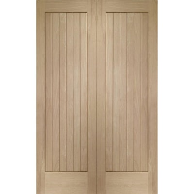 XL Joinery Internal Oak Suffolk Cottage Door Pair