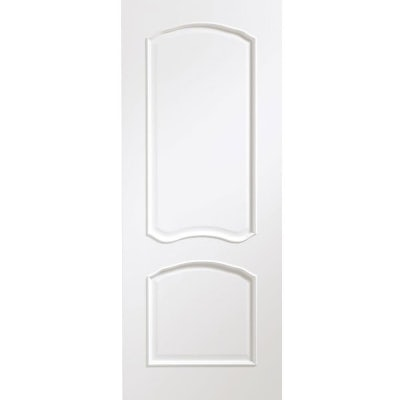 XL Joinery Internal White Lous Pre-Finished 2 Panel Classique Door