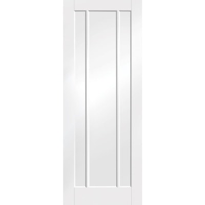 XL Joinery Internal White Primed Worcester Panelled Fire Door FD30