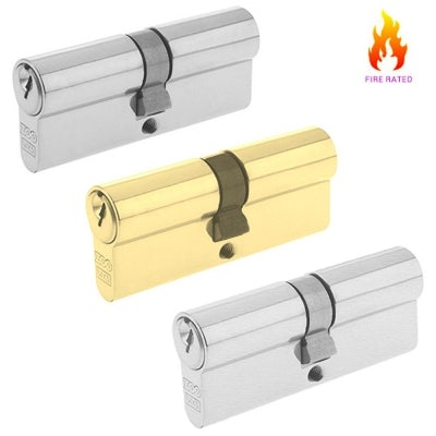 Euro Cylinder Fire Rated 70mm 35/35